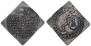Los 333: Jülich-Kleve-Berg Wolfgang Wilhelm von Pfalz-Neuburg, 1624-1653 1/2