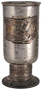 Los 1472: 2. WK Wehrmacht Luftwaffe Auszeichnungen, 1941 Luftwaffe Ehrenpokal für besondere Leistung im Luftkrieg, echt Silber mit Gravur