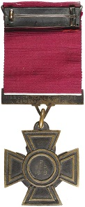 Lot 4972: VICTORIA CROSS, 1918, with brooch suspender bar. Officially engraved. Very fine. Estimate: $500,000.