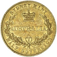 Lot 1118: QUEEN VICTORIA, first type, 1855. Original mint bloom in the lettering and devices, good very fine and extremely rare in this condition, probably the fifth or sixth finest known and an outstanding rarity of the series. Estimate: $35,000.