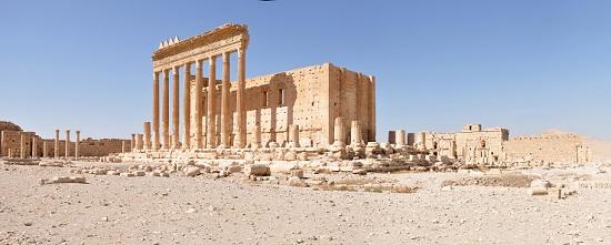 Sonnentempel in Palmyra. Foto: Daniel Lohmann.