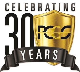 PCGS 30 Years' logo.