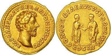 Marcus Aurelius. Aureus.