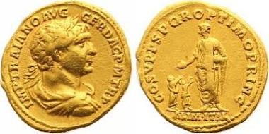 Trajan. Aureus.