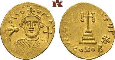 Leontius. Solidus.