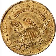 Lot 14105: 1807 Capped Bust Left Half Eagle. BD-8. Rarity-2. AU-53 (PCGS).