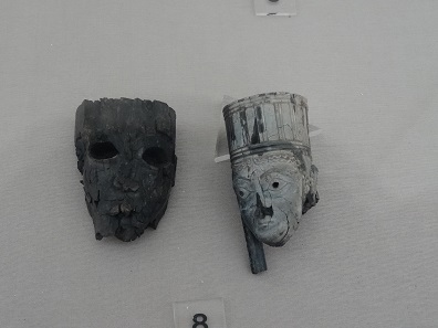 Ivory fragments from Teppe Hasanlu. Photo: KW.