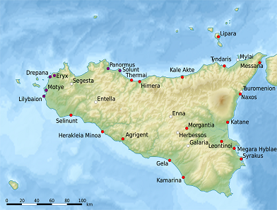 Important foundations in ancient Sicily. Source: Uwe Dede ring / https://creativecommons.org/licenses/by-sa/3.0/deed.de