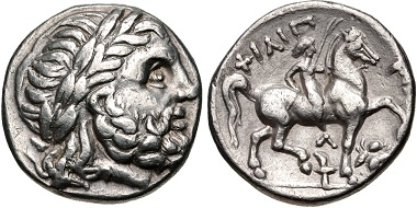 Lot 69: KINGS of MACEDON. Kassander. Tetradrachm. Struck circa 307-297 BC. Le Rider pl. 47, 26. VF, lightly toned. From the Byron Schieber Collection. Estimate $300.