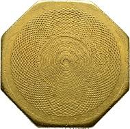 USA. 50 Dollars oktogonal 1852, ausgegeben von United States Assay Office of Gold, San Francisco. F. 79. Sehr selten. Sehr schön.