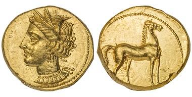 Zeugitana. Carthage. Stater.