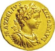 591: Römisches Kaiserreich. Caracalla und Geta. Aureus. Taxe Euro 25.000,-