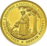 1275: Hansestadt Hamburg. 10 Dukaten 1855. Taxe Euro 7500,-