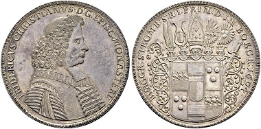 Lot 954: Bishopric Munster. 3 talers 1694.