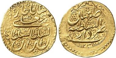 Fath-Ali Shah Qajar, 1797-1834. Toman, 1815/6. From Künker auction sale 256 (2014), 6890.