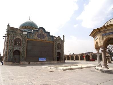 The tomb of Hossein. Photo: KW.