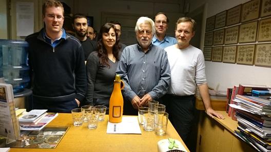 Dr. Hubert Lanz und sein Team.