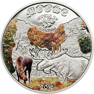 Cook Islands / 2 Dollars / 35 mm / 1/2 oz. Silver .925 / Design: Coin Invest Trust / Mintage: 2500.