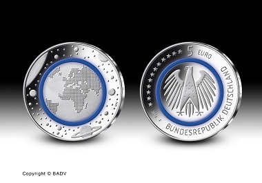 The sought-after 5 euro commemorative coin