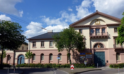 Karlsruhe Mint. Photograph: Günter Josef Rading / Wikipedia CC3.0 Deutschland