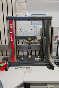 This measuring machine is important for the polymer coin. Photograph: UK.