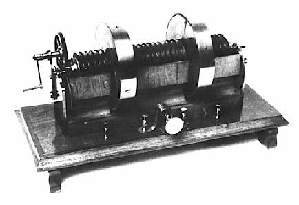 The Jedlik dynamo. Source: Wikipedia.