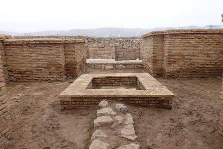 Storage room, archive and treasure chambers; a coin hoard was discovered here. Photo: KW.