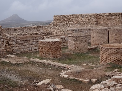 The rest of the Ilkhanate palace. Photo: KW.