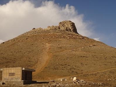 Zendan-e Soleyman. Photo: KW.