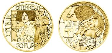 Austria / 50 Euros / Gold .986 / 10.14g / 22mm / Design: Thomas Pesendorfer and Helmut Andexlinger / Mintage: 30,000.