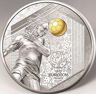 10 euros / 900 silver / 37mm / 22.7g / Mintage: 10,000.