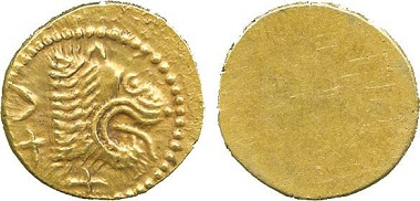 Lot 536: Etruria, Populonia (c.300-250 BC), Gold 25-Asses. About extremely fine, rare. Estimate: £2,500-3,000.