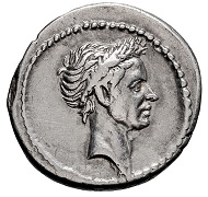 Julius Caesar. Denarius.
