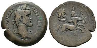 Lot 354: Egypt, Antoninus Pius, 138-161, Drachm 144-145 (year 8). Geissen 1502. Dattari-Savio PL. 156, 2974. Rare. Good Very Fine. From the E.E. Clain-Stefanelli collection. Starting Bid: £ 300.