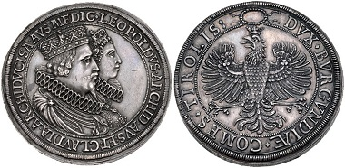 Austria. Leopold. 2 Thaler.