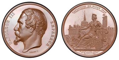 France. Napoleon III. Medal.