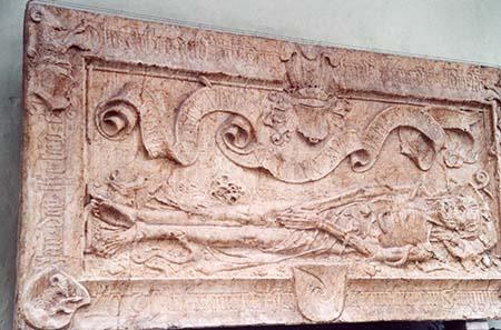 The tomb of the mint master Bernhard Beheim the Elder. Photograph: Ursula Kampmann.