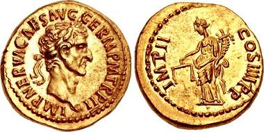 Los 15: Nerva, Aureus, 97. Schätzpreis: CHF 60.000.