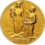 Lot 502: Schweden, Nobelpreis für Chemie, verliehen an Georg Wittig 1979, Medaille von Erik Lindberg. Rufpreis: EUR 20.000,-
