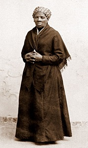 Harriet Tubman, um 1885.
