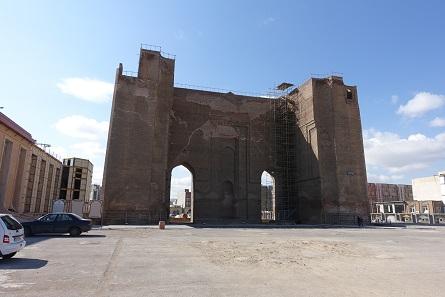 Der Arg-e Ali-Shah -  Nie fertig geworden und dann im 1. Weltkrieg zerstört. Foto: KW.