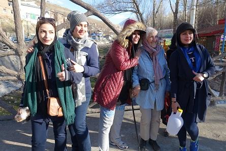 Wir wurden öfter fotografiert, als wir Iraner und Iranerinnen fotografiert haben. Foto: KW.