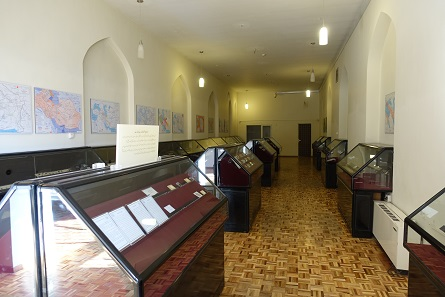 A really quick glance at the coin collection at the Azerbaijan Museum. Photo: UK.