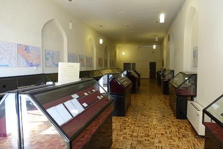 Ein wirklich kurzer Blick in die Münzsammlung des Aserbeidschan-Museums. Foto: UK.