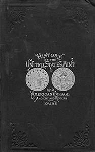 Das Souvenirbuch, wie es ein Besucher der Philadelphia Mint im Jahre 1885 kaufen konnte.
