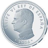 Spain / 10 euros / 925 silver / 27g / 40mm / Mintage: 7,500.