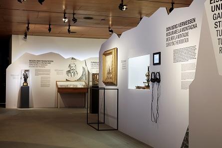 Blick in den ersten Raum der Ausstellung