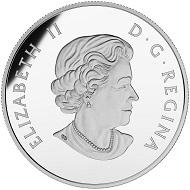 Canada / 20 Dollars / Silver .9999 / 31.39g / 38mm / Design: Joel Kimmel (reverse) and Susanna Blunt (obverse) / Mintage: 40,000.
