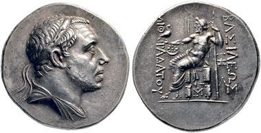 Lot 68: Mithradates III, 220-196 (Pontos). Tetradrachm, around 200, Amasia or Sinope. Ex Ambassador William Eagleton Collection. Extremely fine. Estimate: 40,000 euros. Starting price: 24,000 euros.