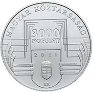 Hungarian EU-Presidency 2011 - 3.000 HUF - Ag .924 - 10 g - diameter 30 mm - 3.000 BU & 5.000 Proof - designer: RONAY Attila - date of issue: January 12, 2011.